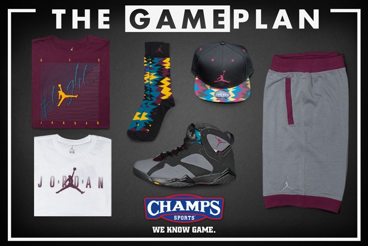 The Game Plan by Champs Sports Presents the Jordan Bordeaux Collection