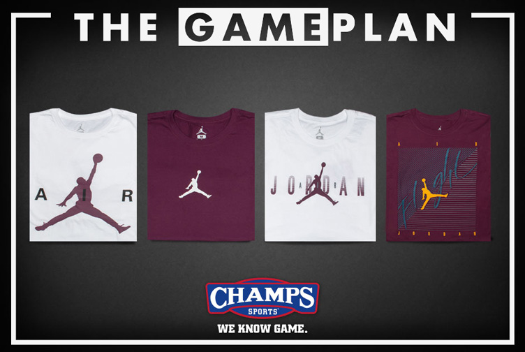 t shirt jordan bordeaux