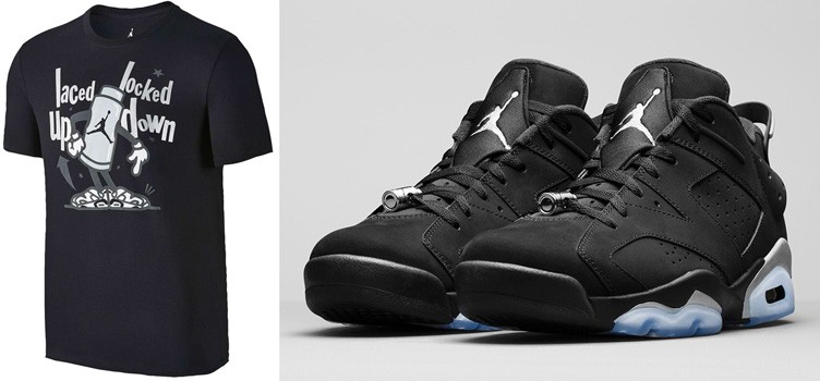 "Air Jordan 6 Low ""Chrome"" x Jordan Retro 6 Toggle Shirt"