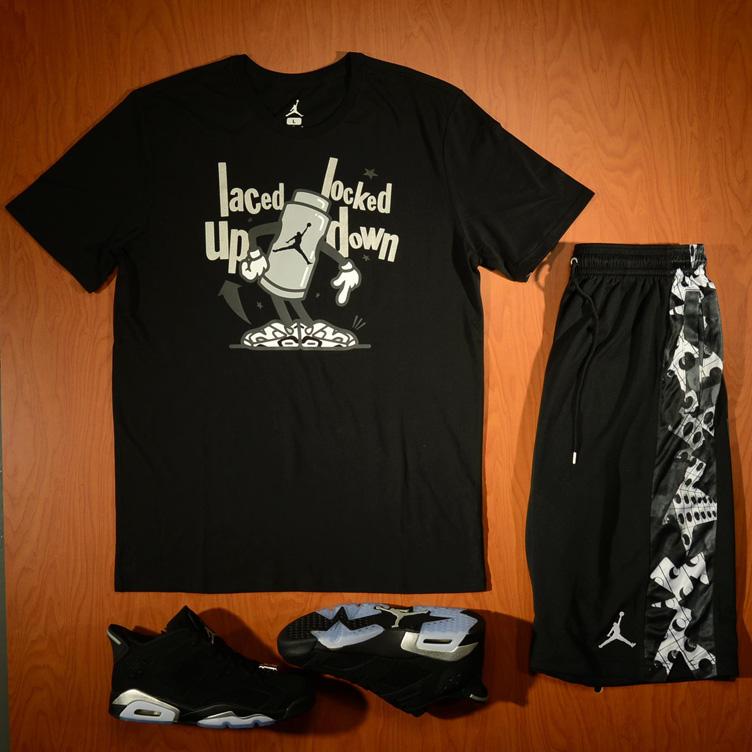 1c0e94fb139f Air Jordan 6 Low Metallic Silver Clothing