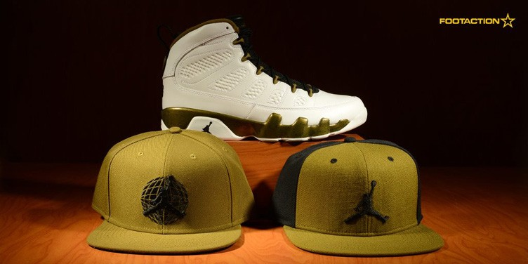 "Air Jordan 9 ""Statue"" Hat Hook-Ups Available at Footaction"