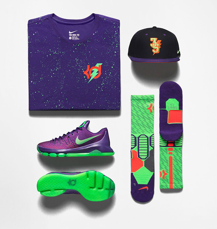 brand new f4cf9 8fc58 Nike KD 8 Suit Clothing Shirt Socks Hat | SneakerFits.com