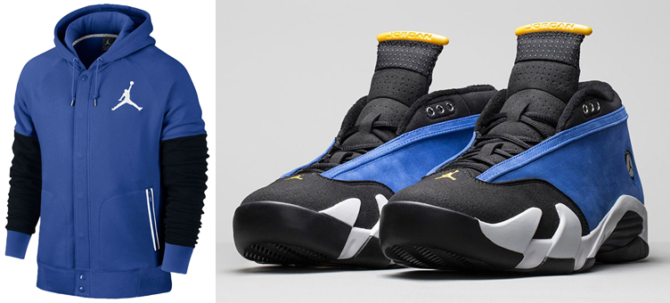 quality design 0a6db c7853 Air Jordan 14 Low Laney Hoodie | SneakerFits.com
