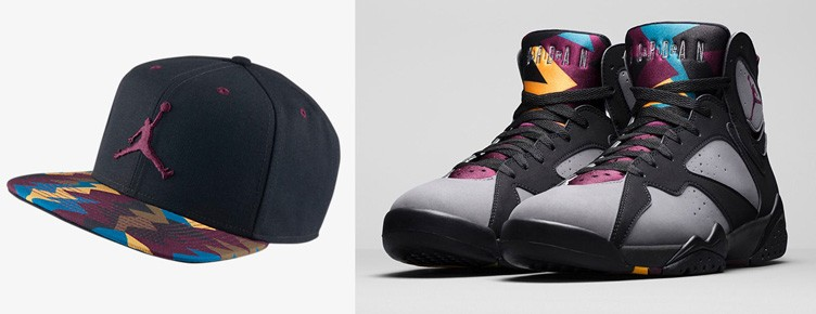 "Air Jordan 7 ""Bordeaux"" Sneaker Hat"