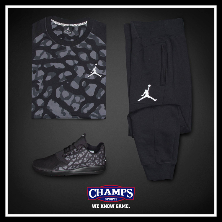 "Jordan Eclipse ""Black Cat"" Apparel Hook Ups Available at Champs Sports 4577544f3"