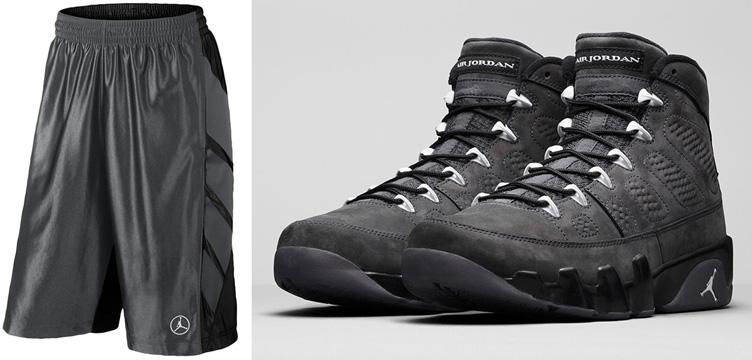 Air Jordan Shorts Noir