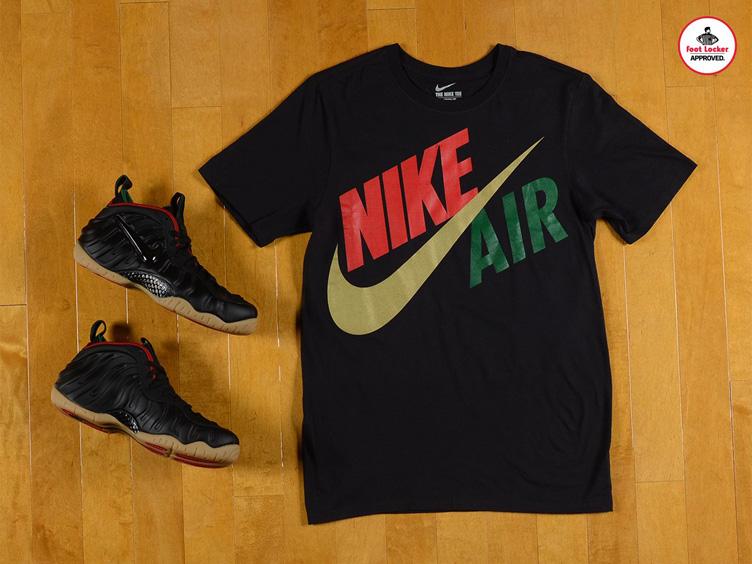b3033a40074 Nike Air Foamposite Pro Gucci Shirt