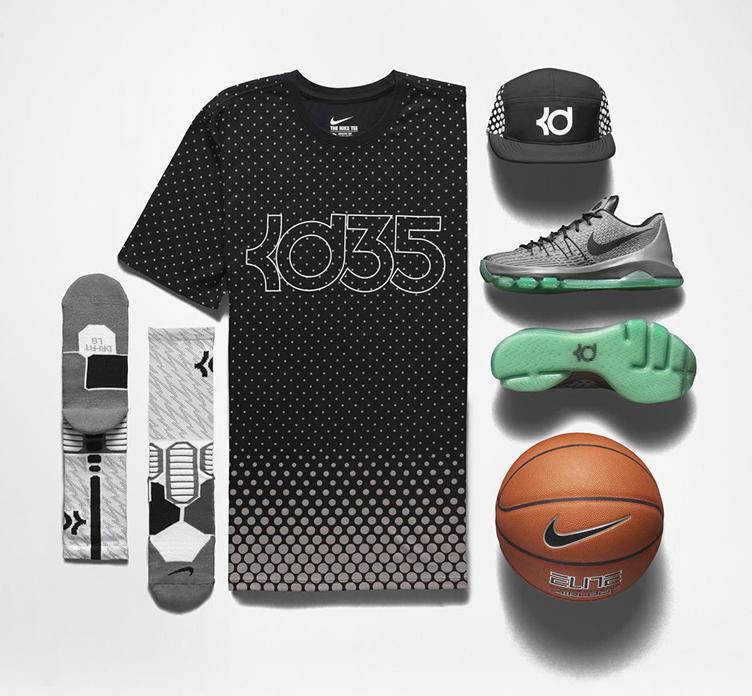 b6d15f2674b4 Nike KD 8 Hunts Hill Night Clothing