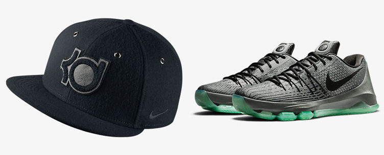 aaaf9135ffc Nike KD 8 Hunts Hill Night Wool Cap
