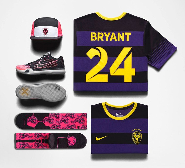 "Nike Kobe X Elite ""Mambacurial"" Collection"