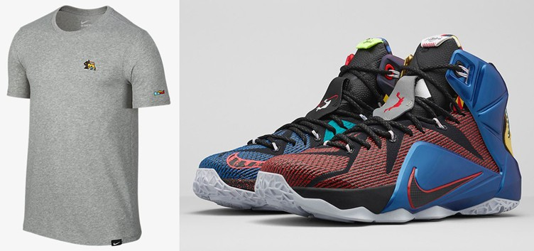 "Nike LeBron 12 ""What The"" T-Shirt"