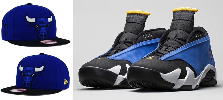 air-jordan-14-laney-new-era-bulls-hat