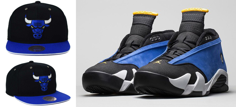the latest dc246 7da92 Air Jordan 14 Low Laney Chicago Bulls Hat by Mitchell and ...