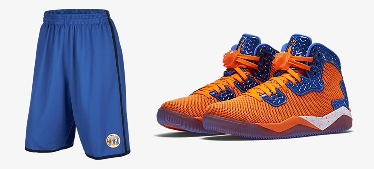 "Air Jordan Spike 40 ""Total Orange"" x Jordan Spike 40 Shorts"
