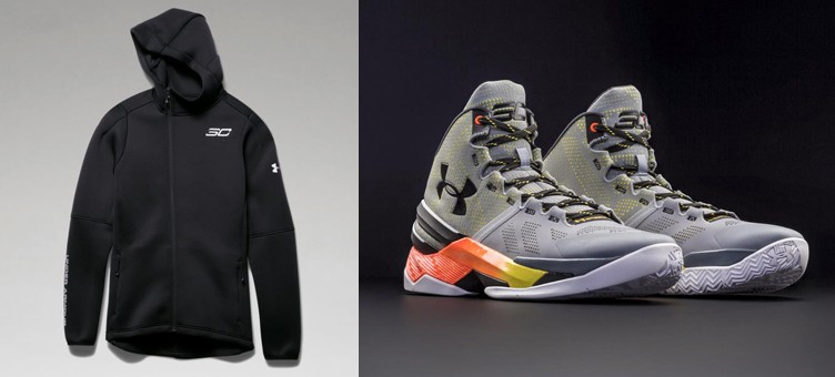 "Under Armour Curry Two ""Iron Sharpens Iron"" x SC30 Space the Floor Jacket"