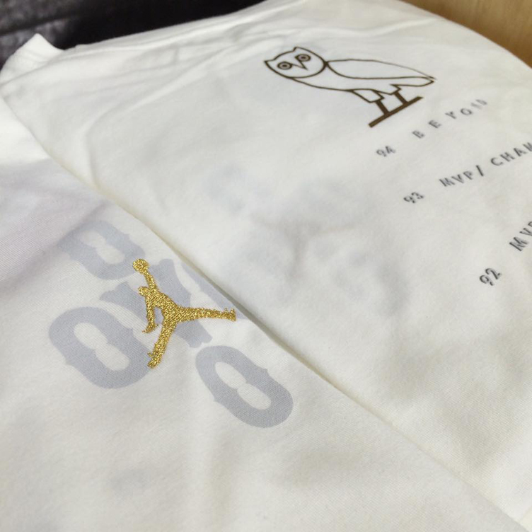 reputable site 30bb8 80cbf Air Jordan 10 OVO T Shirt | SneakerFits.com