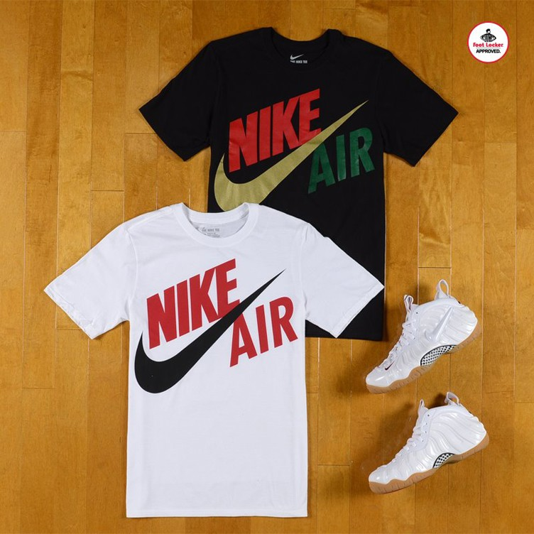 "Nike Air Foamposite Pro ""White Gucci"" x Nike Futura T-Shirt"