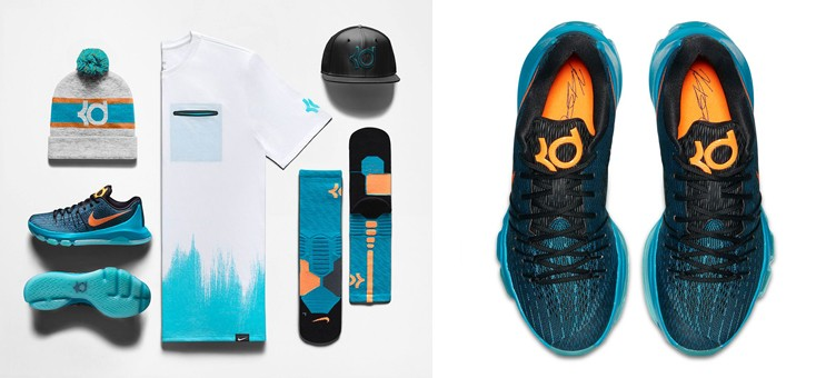 "b283ceefa93 Nike KD 8 ""Road Game"" Collection"