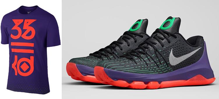 4db2fe3b6346 Nike KD 8 Vinary 35 Shirt