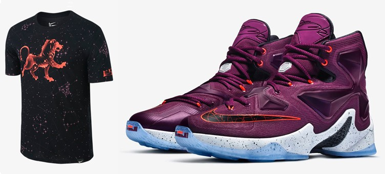"Nike LeBron 13 ""Written in the Stars"" Shirt"