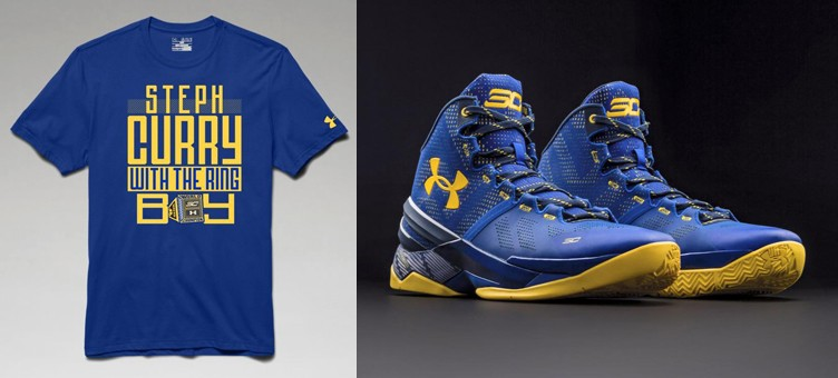 "10 Stephen Curry SC30 T-Shirts to Match the Under Armour Curry Two ""Dub Nation"""