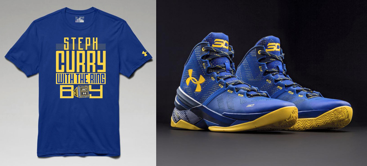 f6ead4512e3f Under Armour Curry Two Dub Nation T Shirts