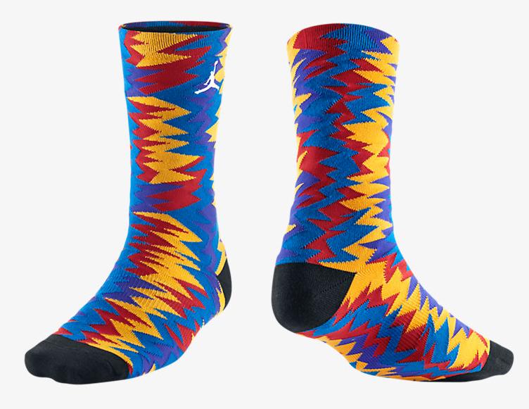 3eeb27241c79 Air Jordan 7 Nothing But Net Socks