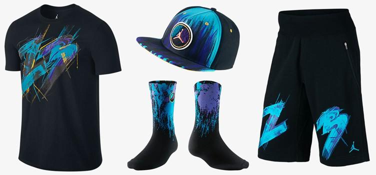 "Air Jordan 8 ""Aqua"" Clothing Collection ea54193e826"