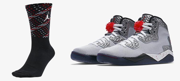 air-jordan-spike-40-fire-red-sock