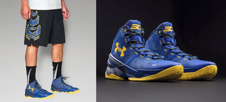 "Under Armour Curry Two ""Dub Nation"" x Under Armour SC30 Stryker Shorts"