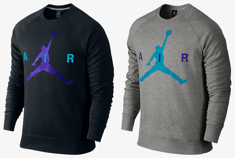 0b586752fa79 Air Jordan 8 Aqua Jumpman Sweatshirt