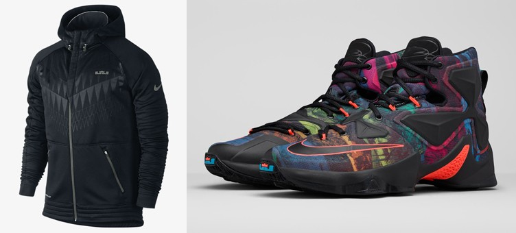 "Nike LeBron 13 ""Akronite Philosophy"" x Nike LeBron Ultimate Hyper Elite Hoodie"