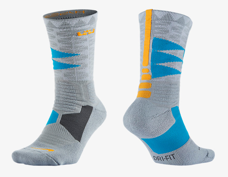 sports shoes fac54 b78b1 nike-lebron-13-balance-socks. Nike LeBron Hyper Elite ...