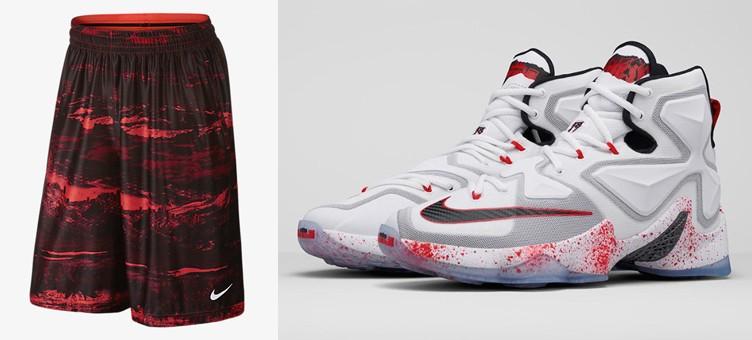 buy popular 5be5c c66a8 Nike LeBron 13 Clothing