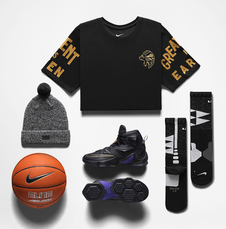 low priced 06f08 3db07 nike-lebron-13-pot-of-gold-clothing