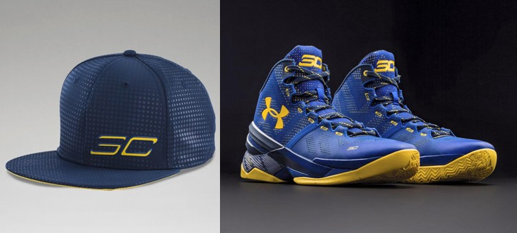 "Under Armour Curry Two ""Dub Nation"" x Under Armour SC30 Snapback Hat"