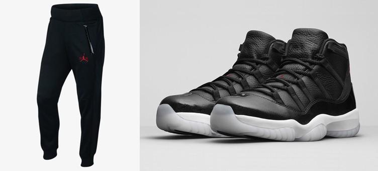 f2b8403cd0a Air Jordan 11 72 10 Fleece Pants | SneakerFits.com