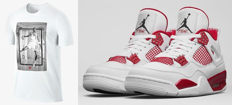 6d5308edb312f9 Air Jordan 4 Alternate 89 Hangtime Shirt