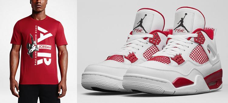 555f531c0aaf4a Air Jordan 4 Alternate 89 Since 1985 Shirt
