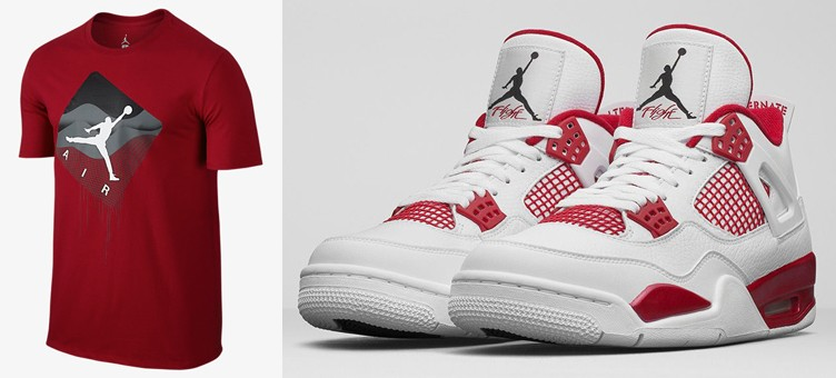 "Air Jordan 4 ""Alternate 89"" x Jordan Taglines T-Shirt"