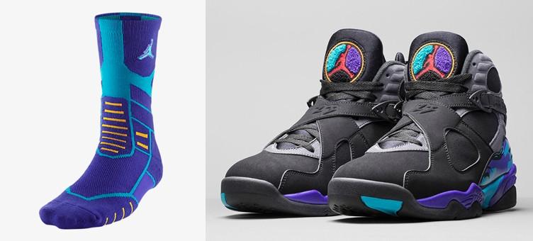 air-jordan-8-aqua-jumpman-socks
