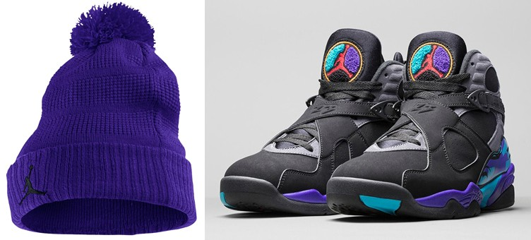 air-jordan-8-aqua-purple-pom-beanie