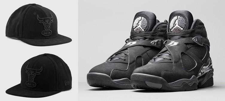 "New Era Chicago Bulls Snapback Hat to Match the Air Jordan 8 Retro ""Chrome"""
