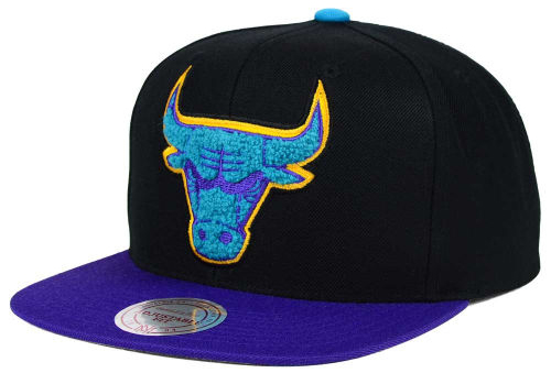 jordan-8-aqua-nba-bulls-hat-chenille-mitchell-and-ness