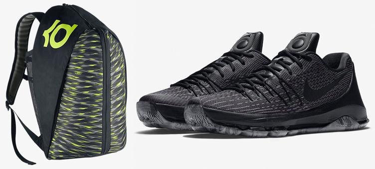 Nike KD 8 Triple Black Blackout