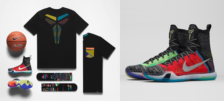 "Nike Kobe X Elite ""What the"" Collection"