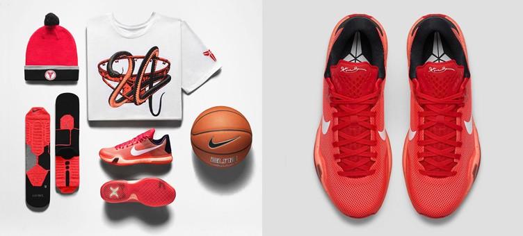 "4d38cb4f1563 Nike Kobe X ""Majors"" Collection"