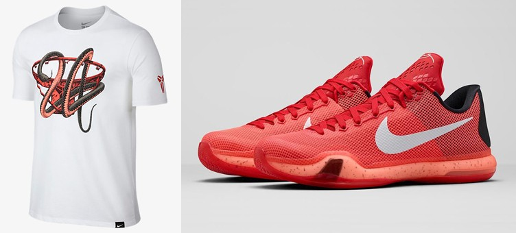 "Nike Kobe Bryant T-Shirts to Match the Nike Kobe X ""Majors"""