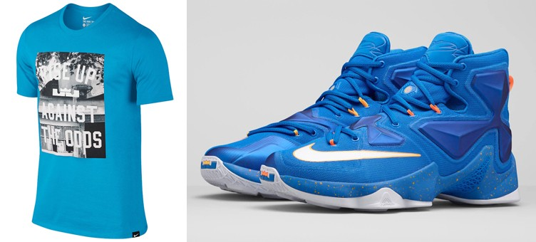 "reputable site dae64 e094c 3 Nike LeBron T-Shirts to Match the Nike LeBron 13 ""Balance"""