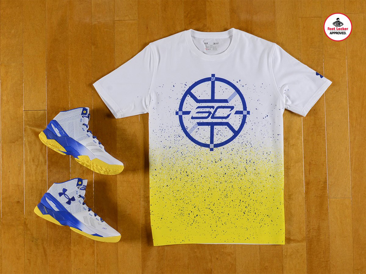 Under Armour Curry Two Dub Nation Home Shirt